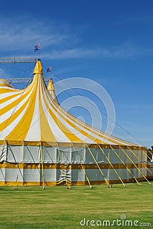 Circus with australian flag