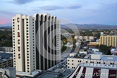 Circus Circus Casino - Reno, Nevada Editorial Photography