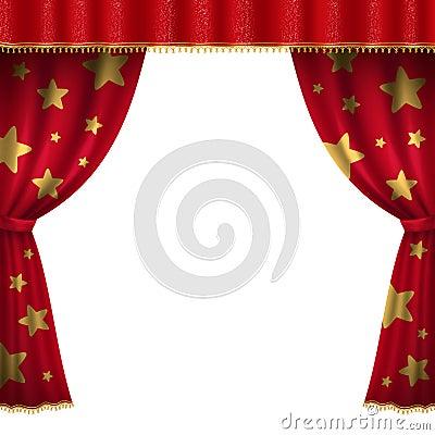 Vector Circus Tent - Bright Icon Stock Image - Image: 30631991