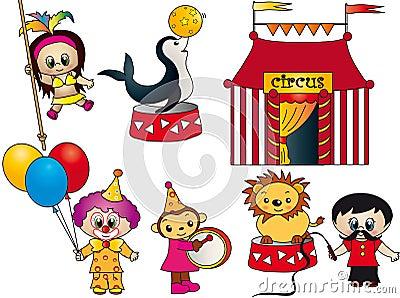 Circus elements