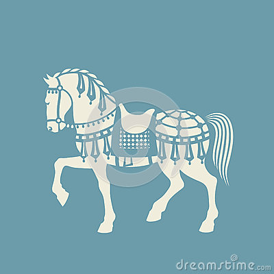 Free Circus Horse Vector Stock Photo - 55371510