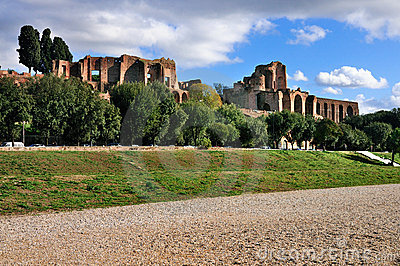 Circus Maximus and the Palatine