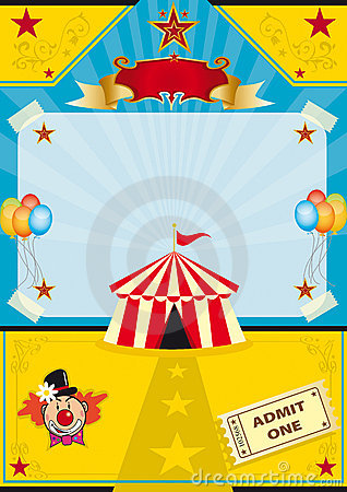 Free Circus On The Beach Royalty Free Stock Photos - 18872508