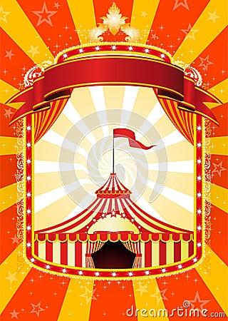 Free Circus Poster Royalty Free Stock Image - 15873836