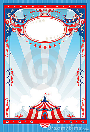 Free Circus Poster Royalty Free Stock Photography - 18526287