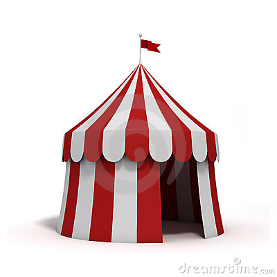 Free Circus Tent Stock Photo - 17174190