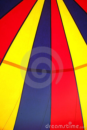 Circus tent pattern