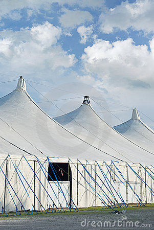 Circus Tents on a Fairground