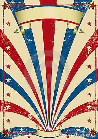 Free Circus Vintage Poster Stock Photography - 9895072