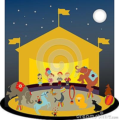 Free CircuScene Royalty Free Stock Image - 8496666
