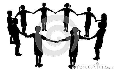 Cirkel 3 van kinderen
