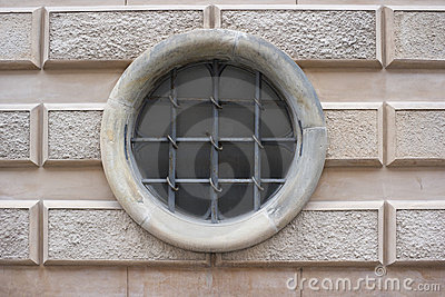 Cirkular secured window