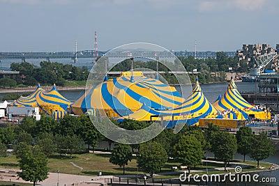 Cirque de Soleil Editorial Stock Image