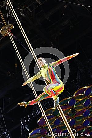 Cirque du Soleil Editorial Stock Image