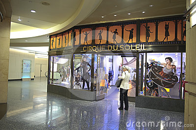 Cirque du soleil store in kodak theater Editorial Photography