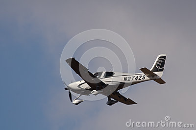 Cirrus SR-22 Editorial Stock Photo