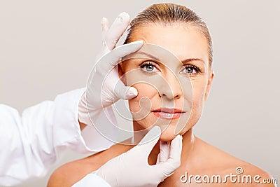 Verificação da pele