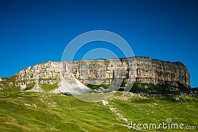 Ciscaucasia summer landscape