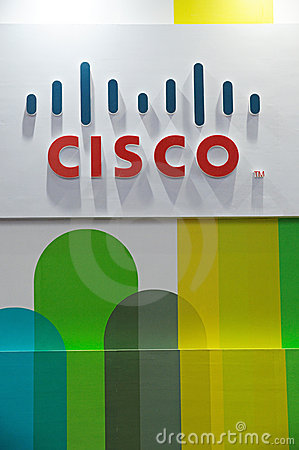 Cisco logo Editorial Photo