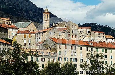 The citadel of Corte, Corsica
