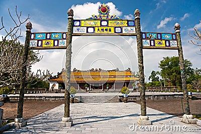 Citadel, Hue, Vietnam.