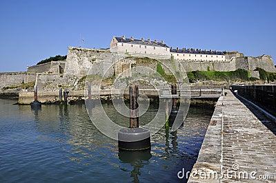 Citadel of Vauban at Belle Ile in France
