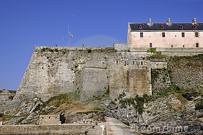Citadel Vauban of Le Palais at Belle Ile in France