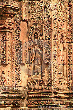 Citadel of the women, Banteay Srei, Cambodia