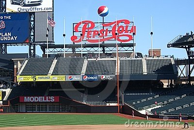 Citi Field - New York Mets Editorial Stock Photo