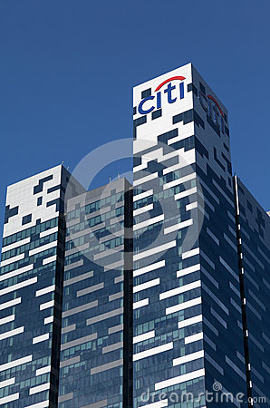 Citibank Tower, Singapore Editorial Image