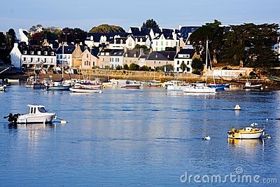 Cities and villages of Brittany: Sainte Marine