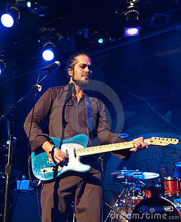 Citizen Cope Live in NYC Editorial Photo
