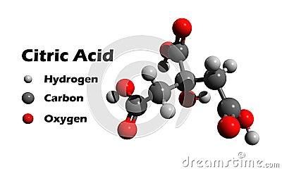 citric acid stock illustration image 50435667. Black Bedroom Furniture Sets. Home Design Ideas
