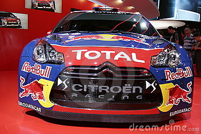 Citroën ds3 racing car Editorial Photography