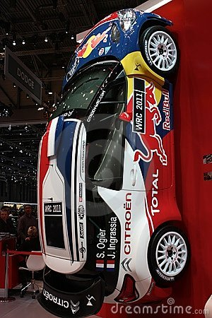 Citroen C4 WRC Editorial Photography