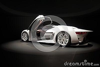 Citroen concept car Editorial Stock Photo