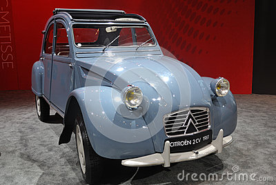 Citroen 2cv 1961 Editorial Stock Image