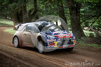 Citroen DS3 WRC car Editorial Image