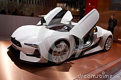 Citroen GT Concept Editorial Photo