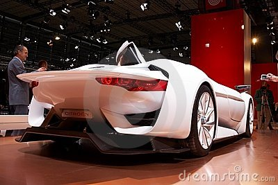 Citroen GT Concept Editorial Stock Photo