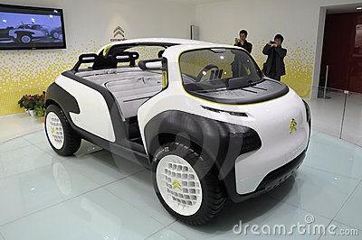 Citroen Lacoste concept sport car Editorial Stock Photo