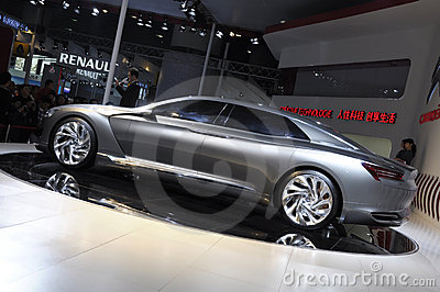 Citroen Metropolis concept limousine Editorial Photo