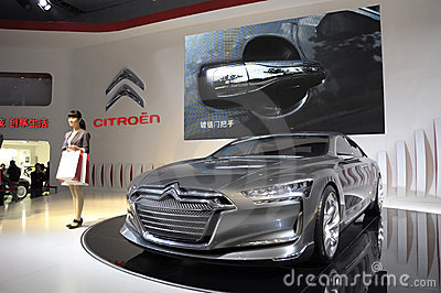 Citroen Metropolis concept limousine Editorial Photography