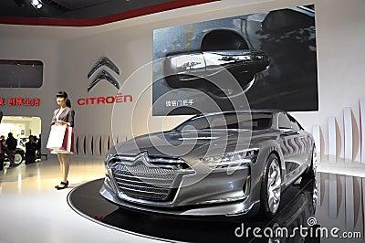 Citroen Metropolis concept limousine Editorial Photography