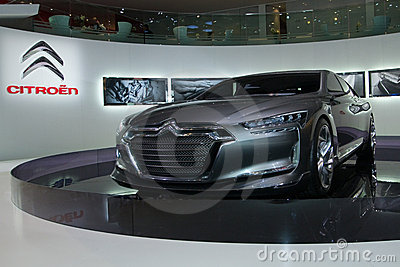 Citroen Metropolis Concept World Premiere Editorial Stock Photo