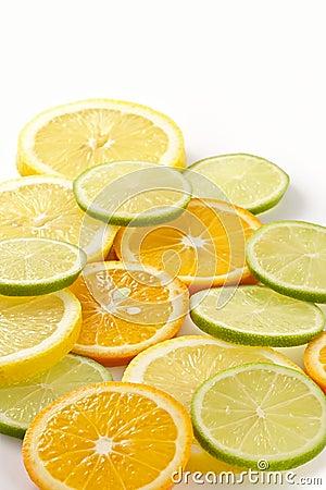 Citron allsorts-lime, lemon, tangerine