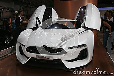 Citroën GT concept sport car Editorial Image