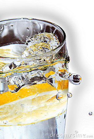 Free Citron Vodka Drink Royalty Free Stock Photography - 7437