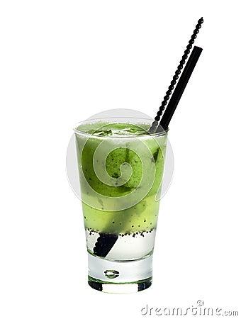 Citronada.Kiwi juice