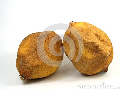 Citrons âgés